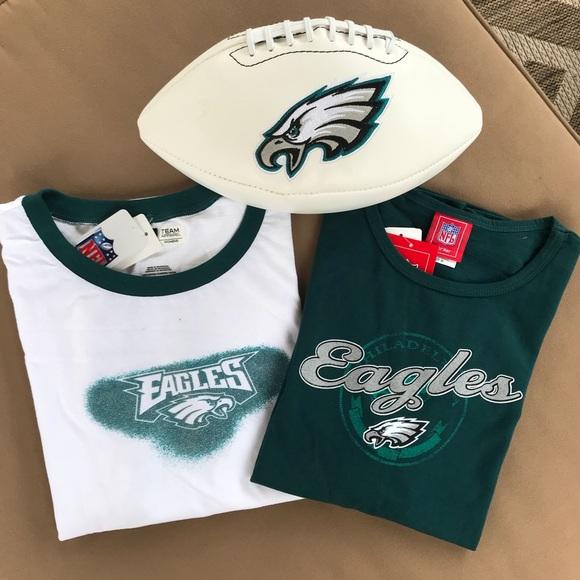fefc78ed0 NFL Team Apparel Tops | Nfl Philadelphia Eagles Tshirts | Poshmark
